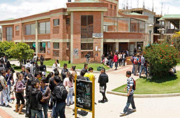 Una de las principales instituciones de Educación Superior en la región boyacense